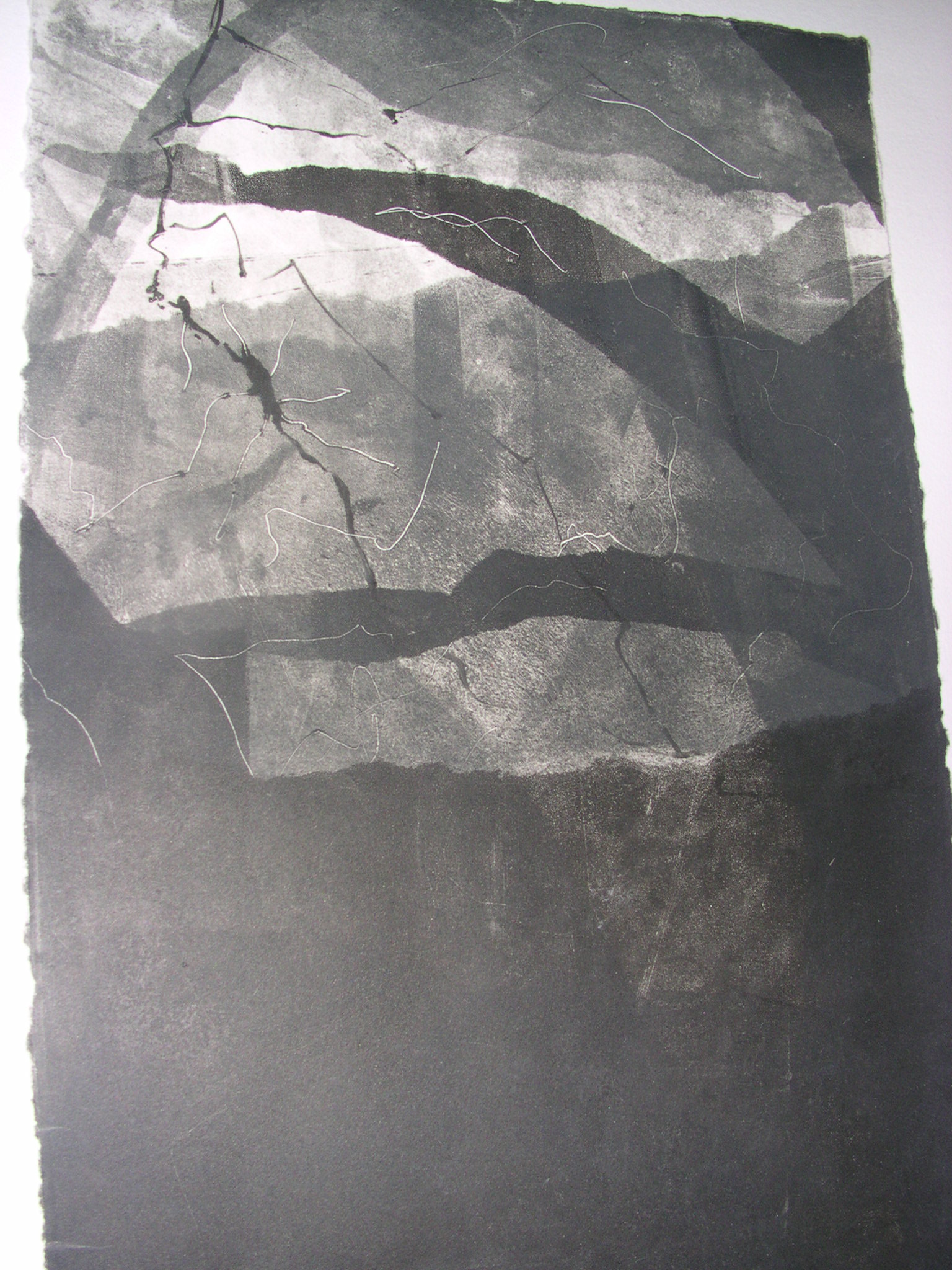 Monotypes Isabelle Beaussant