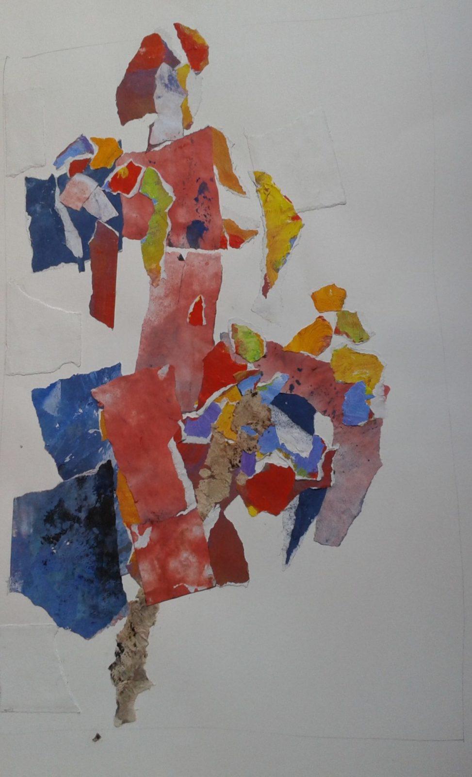 Danse – Collage – 40×60