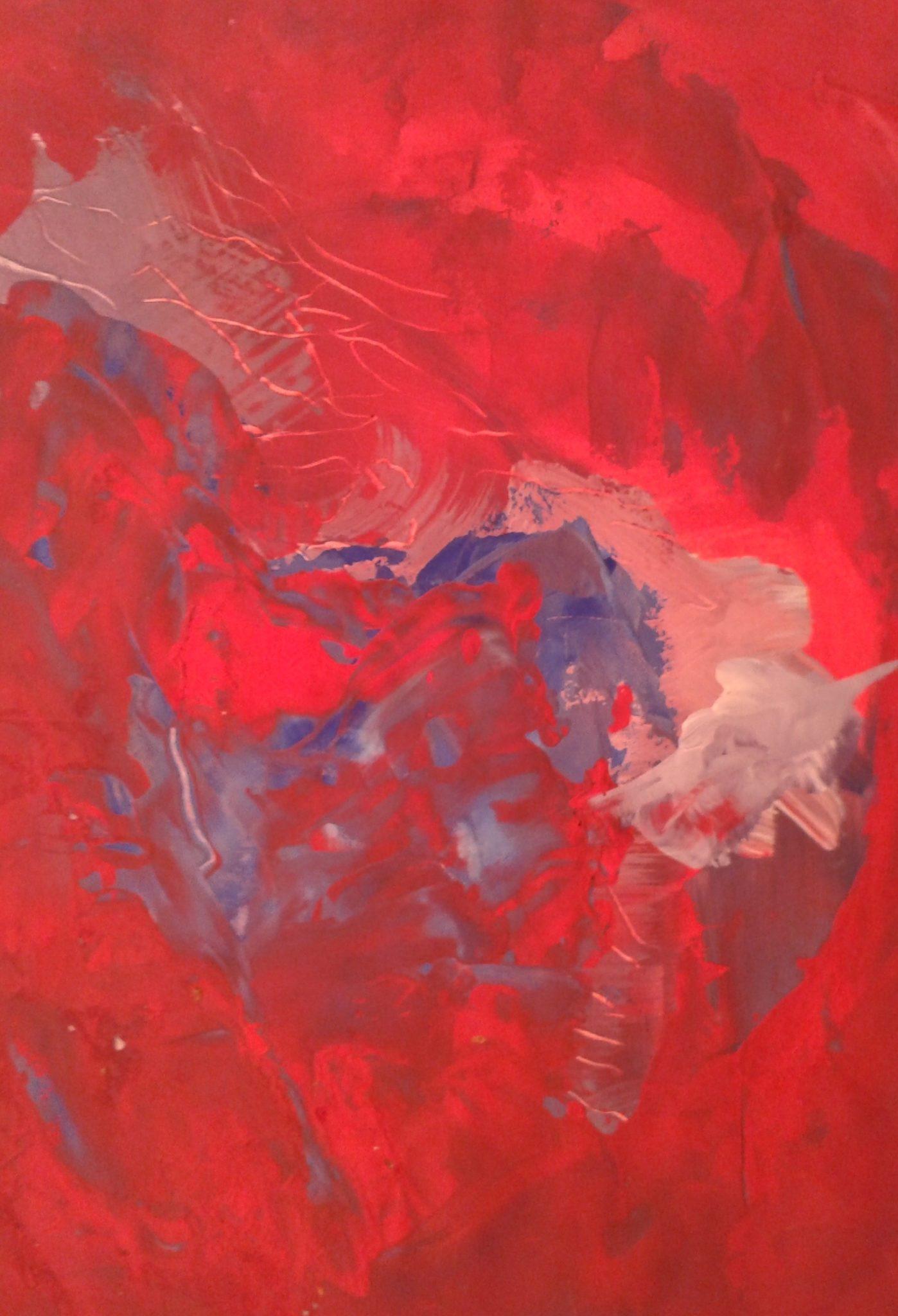 Couleur Coeur- Gouache – 45×60