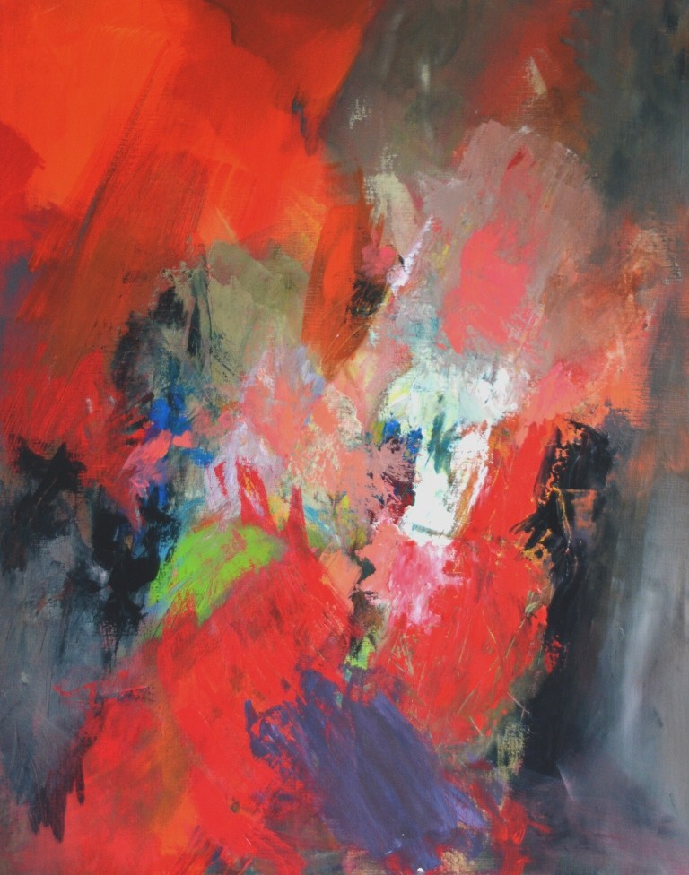 Vie et Mort – Acrylique sur Toile – 80×100