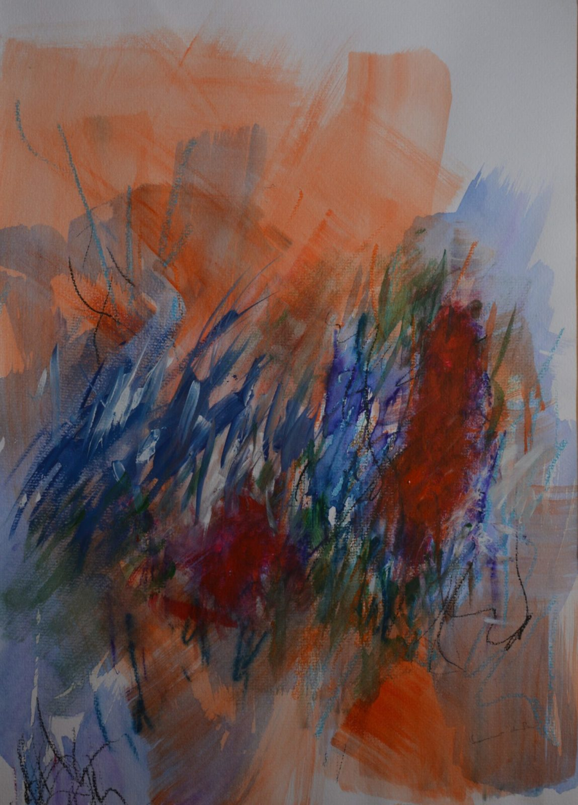 Emerveillements 13 – Aquarelle – 50×65