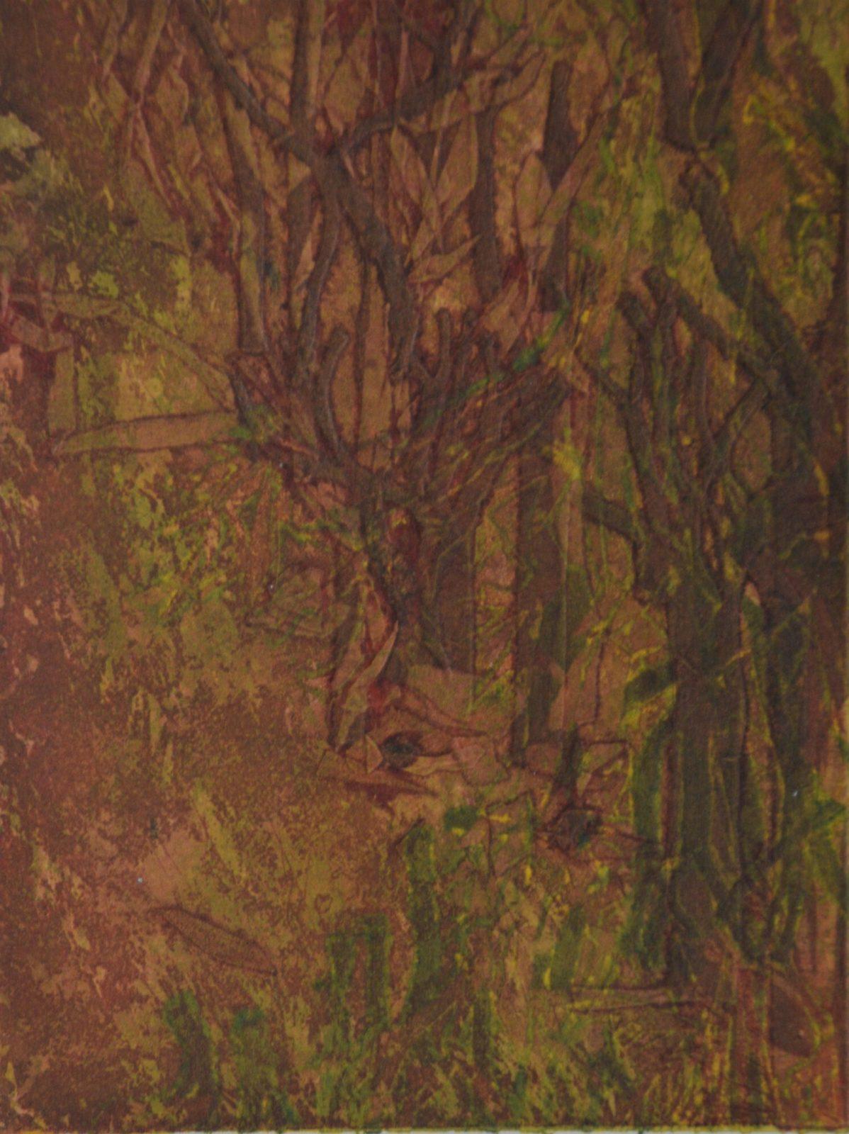 Forêts 2 – Eau forte- 30×20