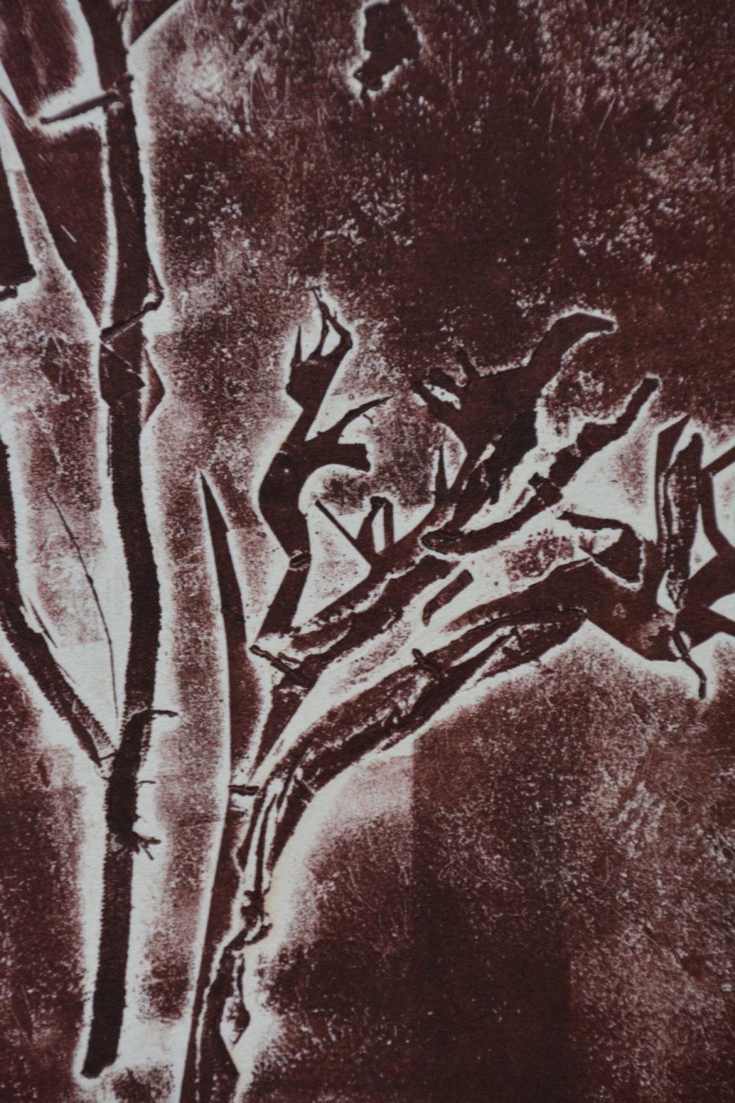 Forêts 3 – Eau forte – 20×30